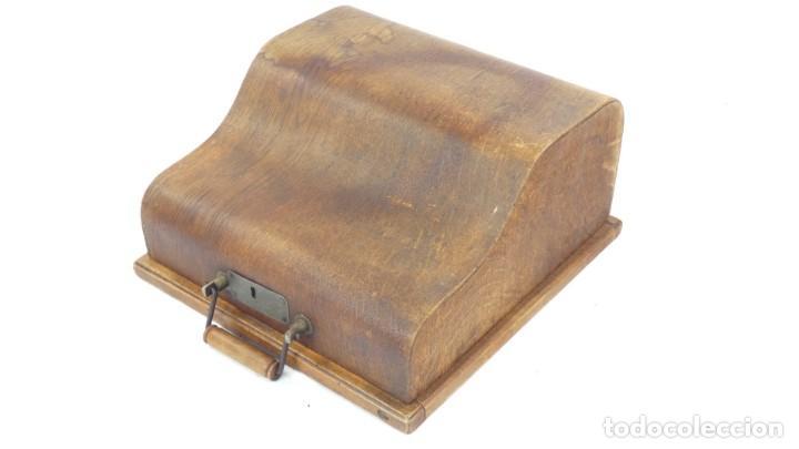 Antigüedades: Maquina de escribir SENTA + ESTUCHE AÑO 1912 Typewriter Schreibmaschine Ecrire - Foto 2 - 287622043