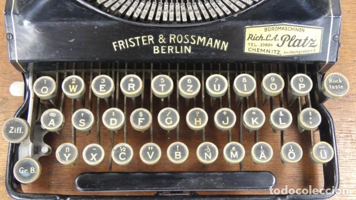 Antigüedades: Maquina de escribir SENTA + ESTUCHE AÑO 1912 Typewriter Schreibmaschine Ecrire - Foto 6 - 287622043