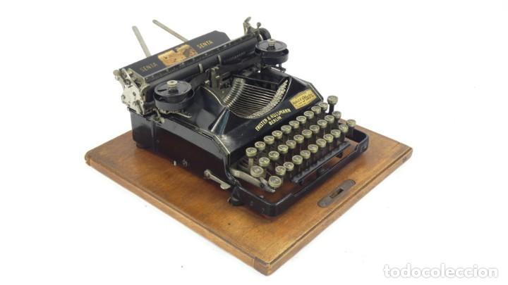 Antigüedades: Maquina de escribir SENTA + ESTUCHE AÑO 1912 Typewriter Schreibmaschine Ecrire - Foto 8 - 287622043