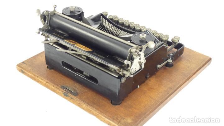 Antigüedades: Maquina de escribir SENTA + ESTUCHE AÑO 1912 Typewriter Schreibmaschine Ecrire - Foto 10 - 287622043