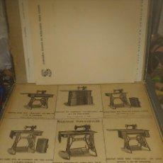 Antigüedades: CARPETA VENDEDR MAQUINAS SINGER. Lote 287642398