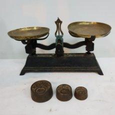 Antigüedades: BALANZA DE MERCADO FUERZA 3. Lote 287710923
