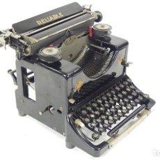 Antigüedades: MAQUINA DE ESCRIBIR RELIABLE AÑO 1921 TYPEWRITER SCHREIBMASCHINE A ECRIRE. Lote 287746823