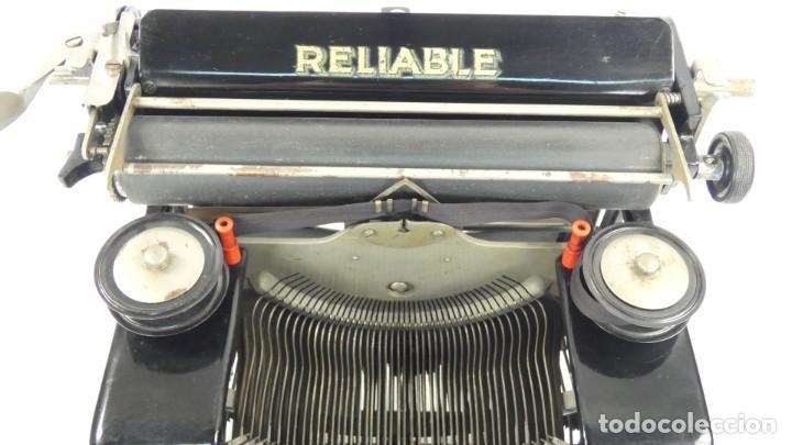 Antigüedades: Maquina de escribir RELIABLE AÑO 1921 Typewriter Schreibmaschine A Ecrire - Foto 3 - 287746823