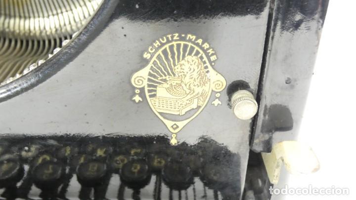 Antigüedades: Maquina de escribir RELIABLE AÑO 1921 Typewriter Schreibmaschine A Ecrire - Foto 4 - 287746823