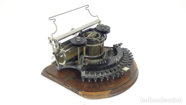MAQUINA DE ESCRIBIR HAMMOND MULTIPLEX CURVA TYPEWRITER SCHREIBMASCHINE A ECRIRE (Antigüedades - Técnicas - Máquinas de Escribir Antiguas - Otras)