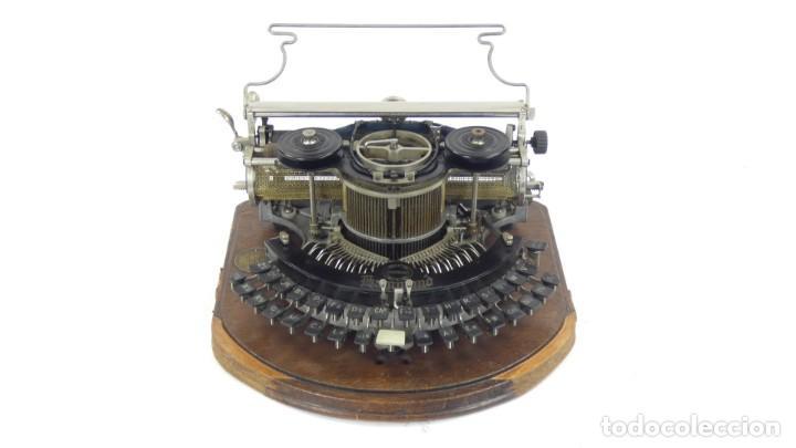 Antigüedades: Maquina de escribir HAMMOND MULTIPLEX CURVA Typewriter Schreibmaschine A Ecrire - Foto 2 - 287758598