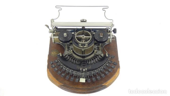Antigüedades: Maquina de escribir HAMMOND MULTIPLEX CURVA Typewriter Schreibmaschine A Ecrire - Foto 3 - 287758598