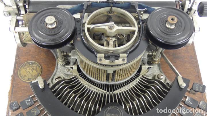Antigüedades: Maquina de escribir HAMMOND MULTIPLEX CURVA Typewriter Schreibmaschine A Ecrire - Foto 5 - 287758598