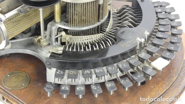 Antigüedades: Maquina de escribir HAMMOND MULTIPLEX CURVA Typewriter Schreibmaschine A Ecrire - Foto 6 - 287758598