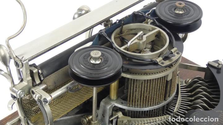 Antigüedades: Maquina de escribir HAMMOND MULTIPLEX CURVA Typewriter Schreibmaschine A Ecrire - Foto 7 - 287758598