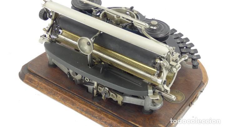 Antigüedades: Maquina de escribir HAMMOND MULTIPLEX CURVA Typewriter Schreibmaschine A Ecrire - Foto 8 - 287758598