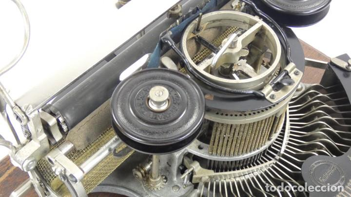 Antigüedades: Maquina de escribir HAMMOND MULTIPLEX CURVA Typewriter Schreibmaschine A Ecrire - Foto 9 - 287758598