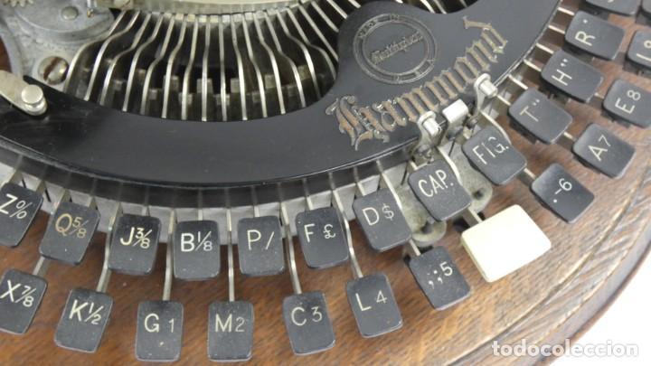 Antigüedades: Maquina de escribir HAMMOND MULTIPLEX CURVA Typewriter Schreibmaschine A Ecrire - Foto 10 - 287758598