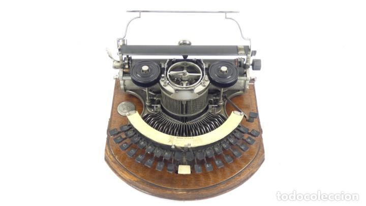 MAQUINA DE ESCRIBIR HAMMOND Nº2 CURVA 1895 TYPEWRITER SCHREIBMASCHINE A ECRIRE (Antigüedades - Técnicas - Máquinas de Escribir Antiguas - Otras)