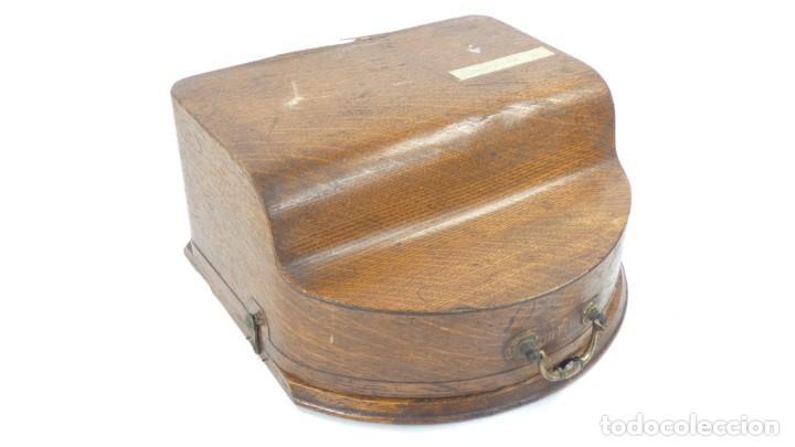 Antigüedades: Maquina de escribir HAMMOND Nº2 CURVA 1895 Typewriter Schreibmaschine A Ecrire - Foto 5 - 287763568