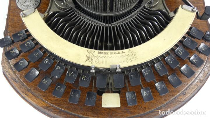 Antigüedades: Maquina de escribir HAMMOND Nº2 CURVA 1895 Typewriter Schreibmaschine A Ecrire - Foto 8 - 287763568