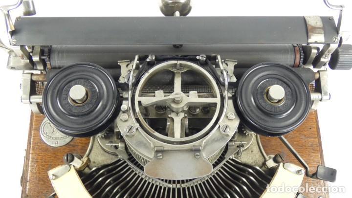 Antigüedades: Maquina de escribir HAMMOND Nº2 CURVA 1895 Typewriter Schreibmaschine A Ecrire - Foto 10 - 287763568