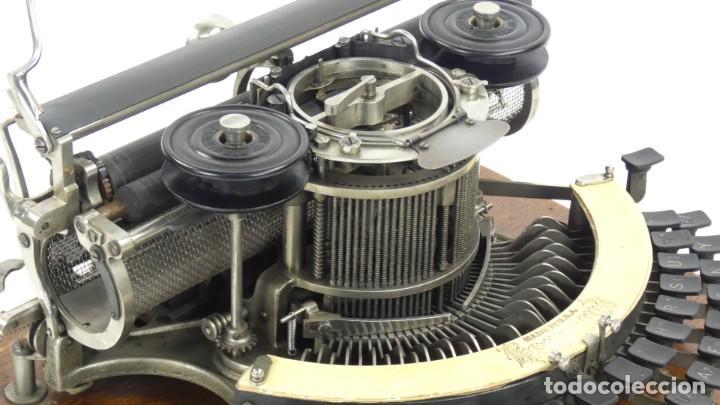 Antigüedades: Maquina de escribir HAMMOND Nº2 CURVA 1895 Typewriter Schreibmaschine A Ecrire - Foto 11 - 287763568