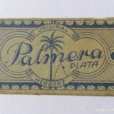Antigüedades: HOJA DE AFEITAR PALMERA PLATA, Nº 40. Lote 287774298