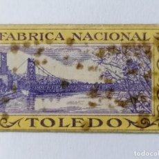 Antigüedades: HOJA DE AFEITAR FABRICA NACIONAL TOLEDO. Lote 287777718