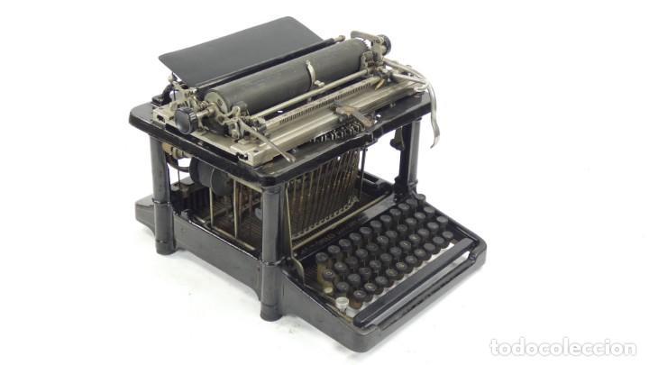 MAQUINA DE ESCRIBIR FAY-SHOLES Nº6 AÑO 1901 TYPEWRITER SCHREIBMASCHINE A ECRIRE (Antigüedades - Técnicas - Máquinas de Escribir Antiguas - Otras)