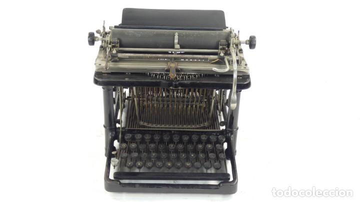 Antigüedades: Maquina de escribir FAY-SHOLES Nº6 AÑO 1901 Typewriter Schreibmaschine A Ecrire - Foto 2 - 287778463