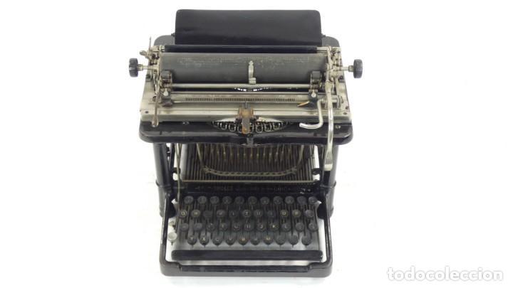 Antigüedades: Maquina de escribir FAY-SHOLES Nº6 AÑO 1901 Typewriter Schreibmaschine A Ecrire - Foto 3 - 287778463