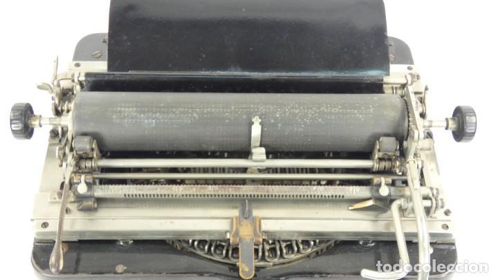 Antigüedades: Maquina de escribir FAY-SHOLES Nº6 AÑO 1901 Typewriter Schreibmaschine A Ecrire - Foto 6 - 287778463