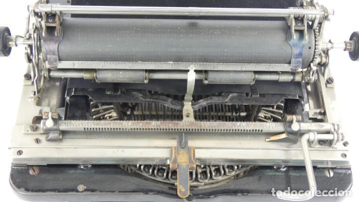 Antigüedades: Maquina de escribir FAY-SHOLES Nº6 AÑO 1901 Typewriter Schreibmaschine A Ecrire - Foto 7 - 287778463