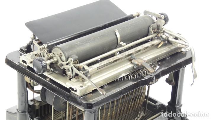 Antigüedades: Maquina de escribir FAY-SHOLES Nº6 AÑO 1901 Typewriter Schreibmaschine A Ecrire - Foto 8 - 287778463