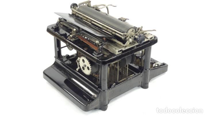 Antigüedades: Maquina de escribir FAY-SHOLES Nº6 AÑO 1901 Typewriter Schreibmaschine A Ecrire - Foto 10 - 287778463
