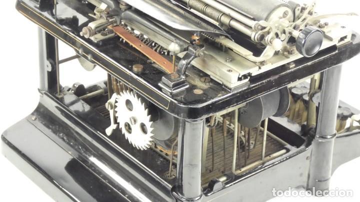 Antigüedades: Maquina de escribir FAY-SHOLES Nº6 AÑO 1901 Typewriter Schreibmaschine A Ecrire - Foto 11 - 287778463