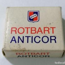 Antigüedades: PAQUETE 9 HOJAS DE AFEITAR ROTBART ANTICOR. Lote 287782423