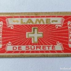 Antigüedades: HOJA DE AFEITAR LAME DE SURETE. Lote 287783308