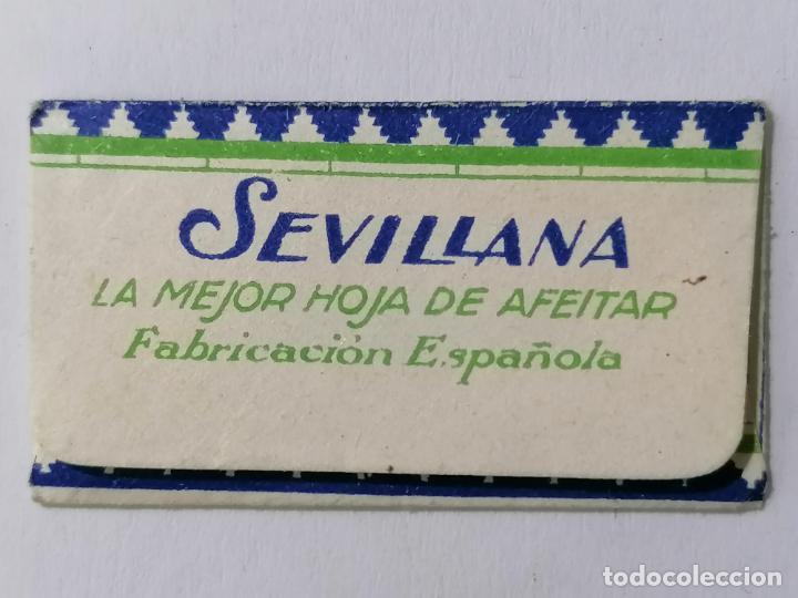 Antigüedades: HOJA DE AFEITAR SEVILLANA, LA MEJOR HOJA DE AFEITAR - Foto 2 - 287783928
