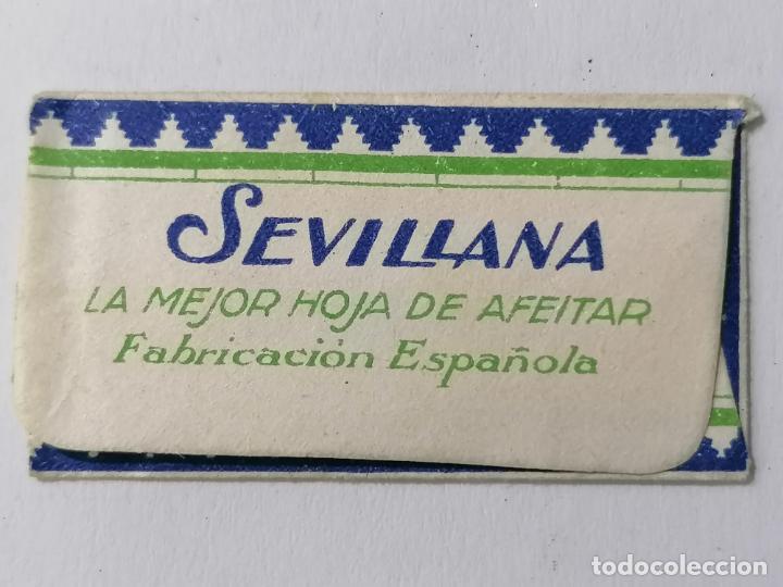 Antigüedades: HOJA DE AFEITAR SEVILLANA, LA MEJOR HOJA DE AFEITAR - Foto 2 - 287784038
