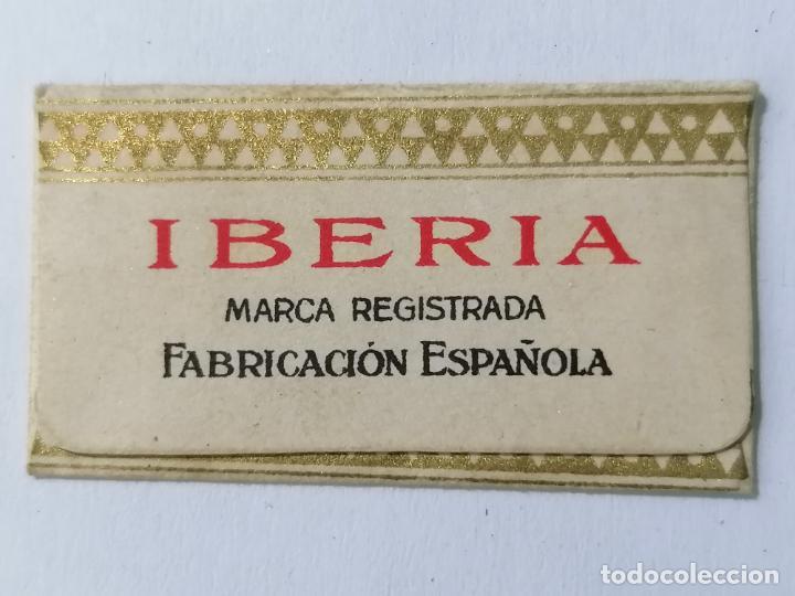 Antigüedades: HOJA DE AFEITAR IBERIA Nº 5 - Foto 2 - 287784438