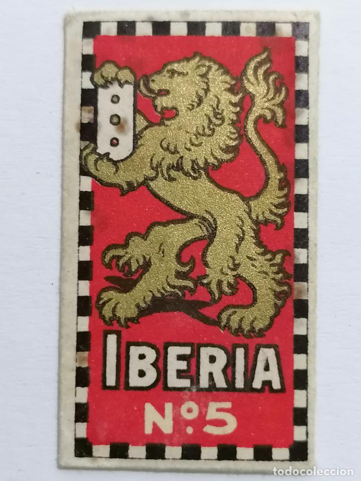 HOJA DE AFEITAR IBERIA Nº 5 (Antigüedades - Técnicas - Barbería - Hojas de Afeitar Antiguas)