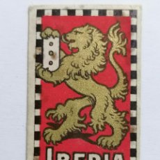Antigüedades: HOJA DE AFEITAR IBERIA Nº 5. Lote 287784438