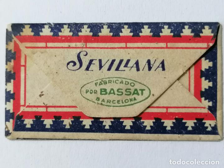 Antigüedades: HOJA DE AFEITAR SEVILLANA, LA MEJOR HOJA DE AFEITAR - Foto 2 - 287785348