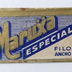 Antigüedades: HOJA DE AFEITAR MARUXA ESPECIAL, FILO ANCHO. Lote 287786043
