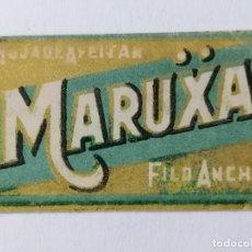 Antigüedades: HOJA DE AFEITAR MARUXA, FILO ANCHO. Lote 287786618
