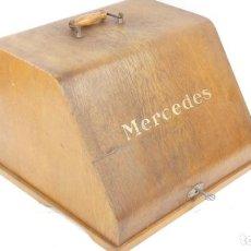 Antigüedades: MAQUINA DE ESCRIBIR CAJA MADERA MERCEDES TYPEWRITER SCHREIBMASCHINE A ECRIRE. Lote 287793743