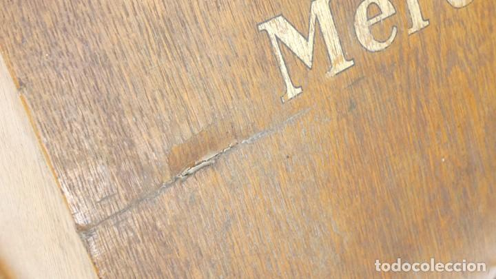 Antigüedades: Maquina de escribir CAJA MADERA MERCEDES Typewriter Schreibmaschine A Ecrire - Foto 7 - 287793743