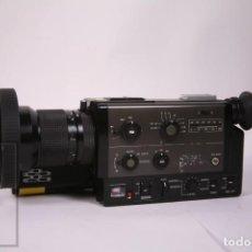 Antigüedades: CAMARÁ DE FILMAR CINE 8MM PROFESIONAL CANON 1014 XLS AÑO 1979 - CON MICROFONO CANON DM 40R. Lote 287843788