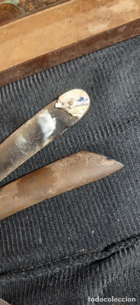 Antigüedades: Navaja afeitar solingen - Foto 4 - 287850748
