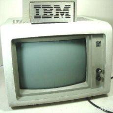 """Antiguidades: MONITOR VINTAGE IBM 5151-002 - PCD VERDE FOSFO 12 """" COLECCION - PANTALLA ORDENADOR CLASICO 5151002. Lote 287856078"""