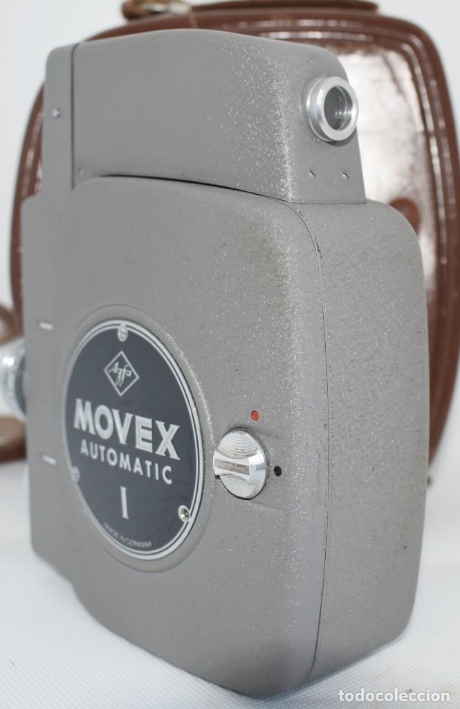 Antigüedades: EXTRAORDINARIA CAMARA, CINE A CUERDA DE 8 mm.ALEMANIA 1958..AGFA MOVEX AUTOMATIC +FUNDA. FUNCIONA - Foto 14 - 287902663
