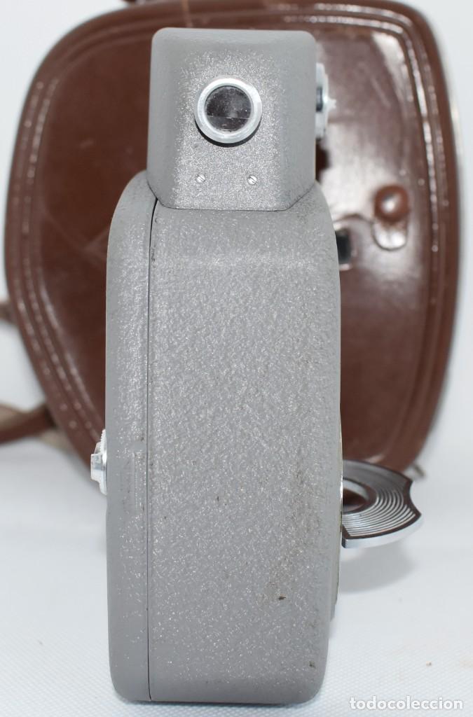 Antigüedades: EXTRAORDINARIA CAMARA, CINE A CUERDA DE 8 mm.ALEMANIA 1958..AGFA MOVEX AUTOMATIC +FUNDA. FUNCIONA - Foto 15 - 287902663